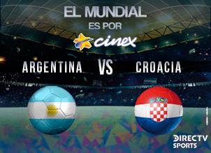 ARGENTINA-CROACIA MUNDIAL 2018 (DIG) (ESP)