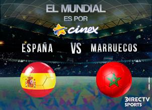 ESPANA-MARRUECOS MUNDIAL 2018