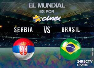 SERBIA-BRASIL MUNDIAL 2018