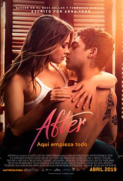 Poster de: AFTER AQUI EMPIEZA TODO