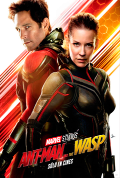Poster de: ANT-MAN Y LA AVISPA
