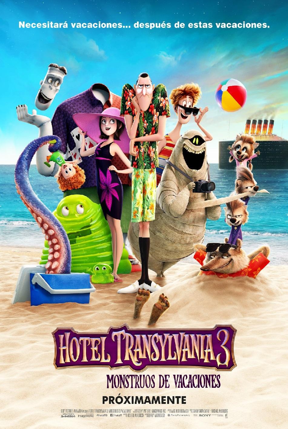 Poster de:1 HOTEL TRANSYLVANIA 3
