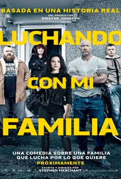 Poster de: LUCHANDO CON MI FAMILIA