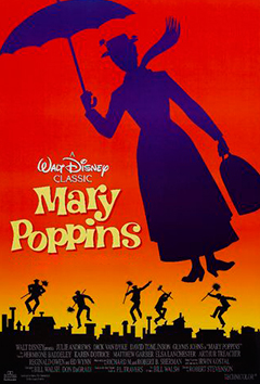 Poster de:1 MARY POPPINS