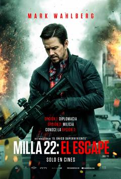 Poster de:1 MILLA 22 EL ESCAPE
